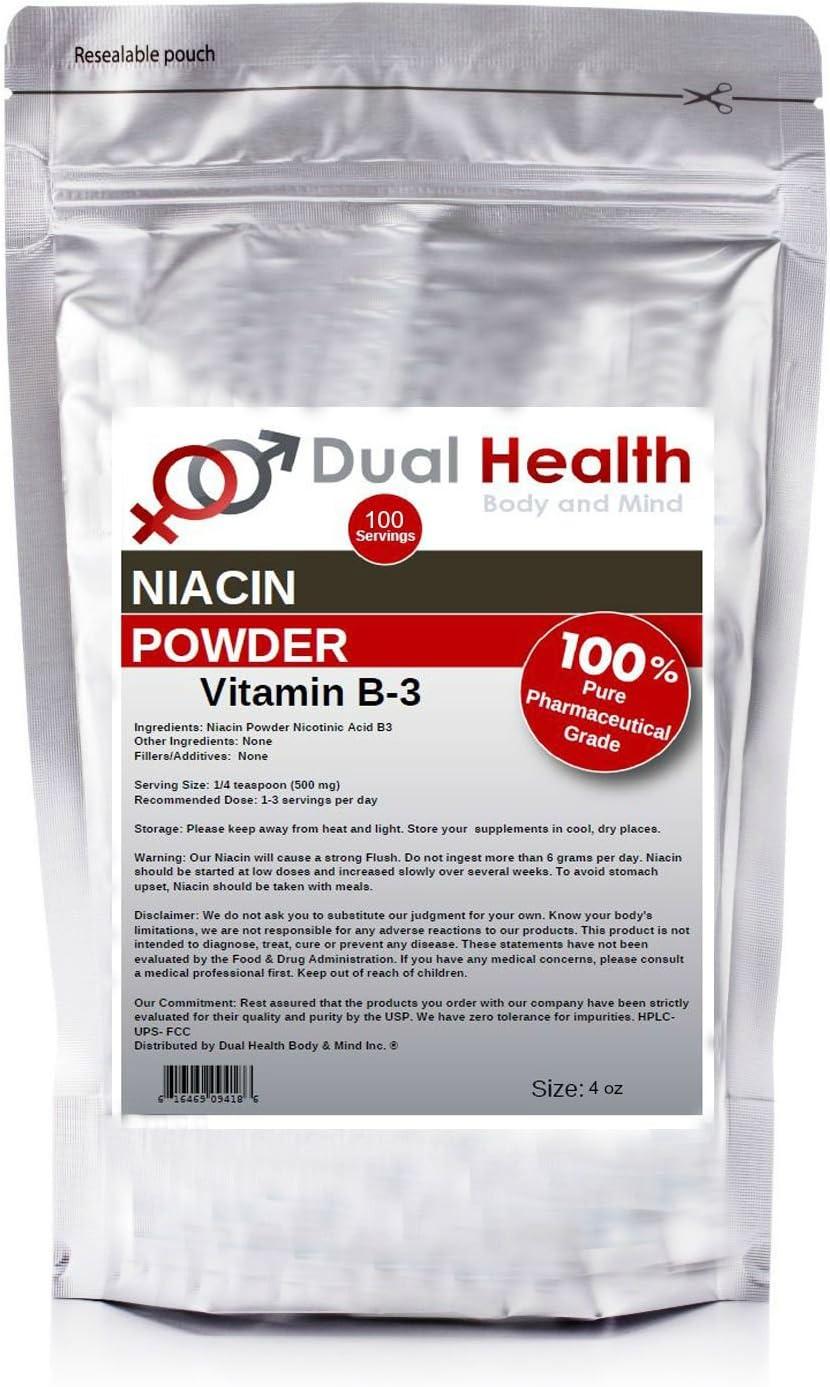 4 oz Niacin Nicotinic Acid Powder (113.4g) Vitamin B3