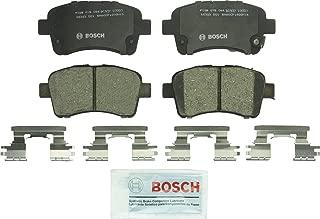 Bosch BC937 QuietCast Premium Ceramic Disc Brake Pad Set For 2002-2006 Suzuki Aerio; Front