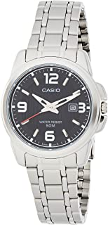Casio Women's Black Dial Stainless Steel Analog Watch - LTP-1314D-1AVDF
