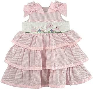Baby Girls' Bunny Smocked Dress