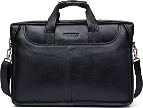 Best black leather lawyer briefcase Reviews