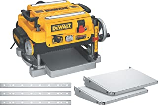DEWALT 13-Inch Thickness Planer – Three Knife, Two speed, DW735X model