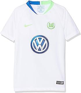 Nike Unisex Kinder VFL Wolfsburg Breathe Stadium Away T-Shirt