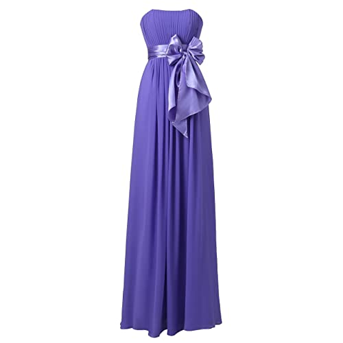 ccd97c4db952 Ouman Sweetheart Bridesmaid Chiffon Prom Dresses Long Evening Gowns