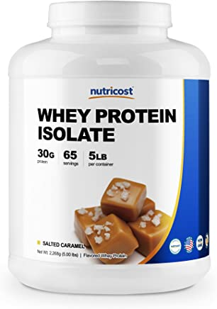 Nutricost Whey Protein Isolate (Salted Caramel) 5LBS