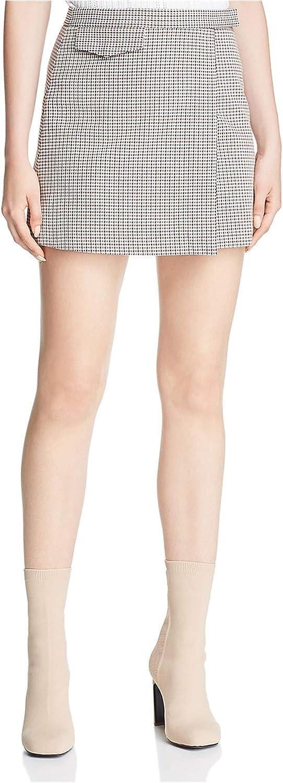 Theory Women's Snap Miniskirt