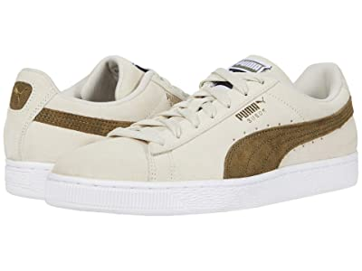 PUMA Suede Classic (Whisper White/Burnt Olive) Shoes