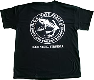 Navy Seals U. S Frog Skeleton Violent Frog T-Shirt United States Seal Team 6 Six