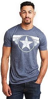 Marvel Cap Logo Camiseta para Hombre