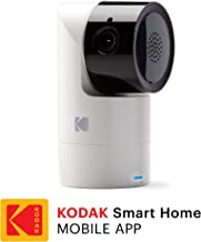 KODAK Cherish C125 Add-On Smart Video Baby Camera with Mobile App, Remote Tilt, Pan and Zoom Two-Way Audio, Night-Vision, Long Range - WiFi Indoor Camera Smart WiFi Baby Monitor Add-on
