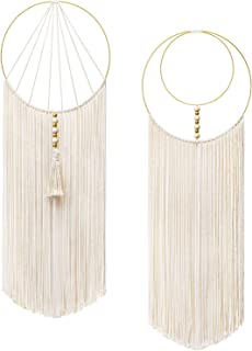 Ivory SARO LIFESTYLE Cheveux Colllection Home-Decor-Accents 13 x 14