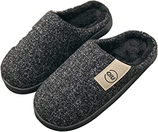 Zuq, pantofole invernali in morbido peluche, unisex, per uomini e donne