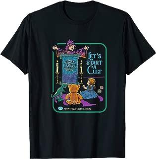 Lets Start a Cult Cute Tee - Vintage Horror Halloween Gift T-Shirt