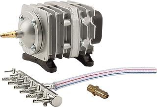 EcoPlus 728450 Eco Air1 Commercial Air Pump 1-18 Watt Single Outlet, 6 Valve Manifold For Aquarium, Fish Tank, Fountain, P...