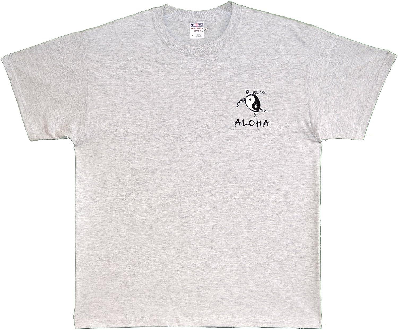 RJC Maui Imprint Ying Yang Turtle Pre-Shrunk Cotton T-Shirt