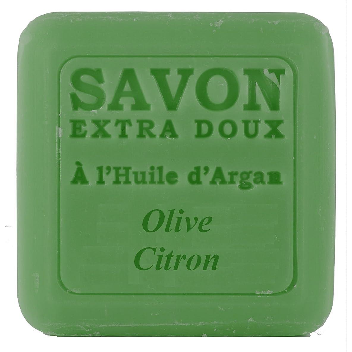 サイクロプスうま慢性的Plantes&Parfums [プランツ&パルファム] アルガンオイルソープ100g オリーブレモン