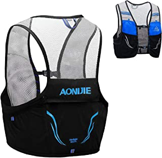 TRIWONDER Hydration Vest 2.5L Ultra Trail Running Backpack Hydration Pack Marathon Vest Lightweight Outdoor Hiking Cycling Daypack