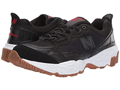 New Balance Classics 801 (Black/White Munsell Leather) Men