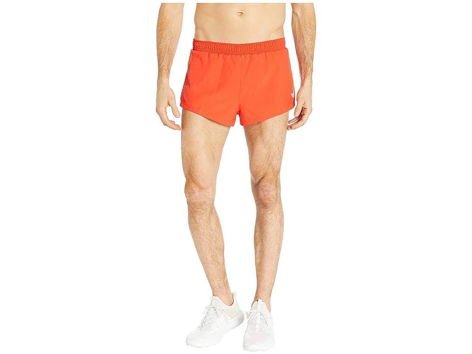 Nike Fast Shorts 2 (Habanero Red/Dune Red) Men