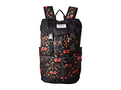 Burton Outing Pack (Black Fresh Pressed Print) Day Pack Bags