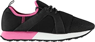 Firetrap Womens Ladies Getaria Trainers Sneakers Running Shoes Lightweight Mesh