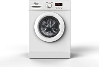 Super General 1000 RPM Front Load Washing Machine, White, 6 Kg, SGW6100NLED