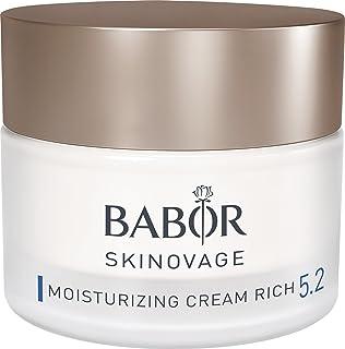 Babor Skinovage Moisturizing Cream Rich, Rijke Verzorgingscrème Voor Droge Huid Met Gebrek Aan Lipiden, 50 ml