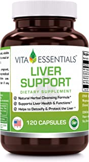 Vita Essentials Liver Support Capsules, 120 Count