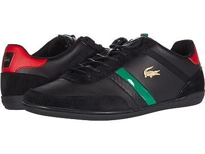 Lacoste Giron 0320 1 (Black/Red) Men