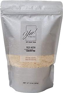 Yez! Keto Baking Mix - Keto, Paleo, Vegan, Low carb, Gluten free, Wheat free, Grain free, Sugar free, Soy free, Diabetic F...