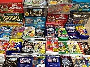 100 کارت فوتبال وانت در جعبه موم قدیمی بسته بندی شده - مناسب برای جمع آوری های جدید