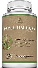 Premium Psyllium Husk Capsules - 725mg of Psyllium Husk per Capsule - Powerful Psyllium Husk Fiber Supplement Helps Suppor...