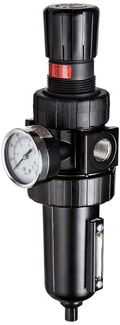 Parker 07E32A13AC One-Unit Combo Compressed Air Filter/Regulator, 1/2