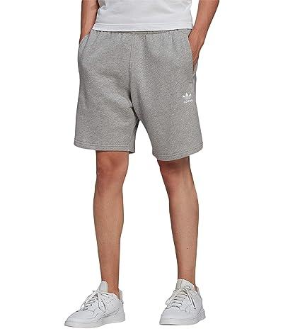 adidas Originals Essential Shorts (Medium Grey Heather) Men
