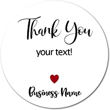 Alternating Designs Thank You Stickers for Weddings Birthdays Parties YouCY Thank You Frames Stickers