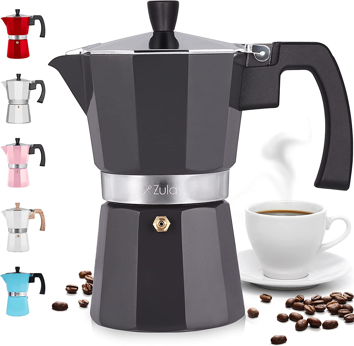Zulay Classic Stovetop Max 41% OFF Espresso Maker for Strong Great SALENEW very popular! Flavored