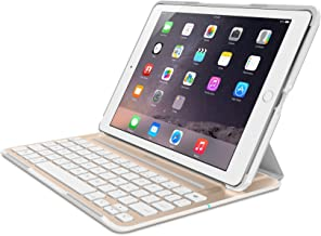 Belkin QODE Ultimate Pro Keyboard Case for iPad Air 2 (White & Gold)