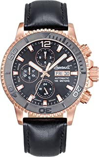 Ingersoll(インガーソル) 腕時計 Bison No.58 自動巻き(手巻き)メンズ IN1105RBK [並行輸入品]