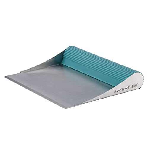 Rachael Ray Cucina Tools & Gadgets Bench Scrape, Agave Blue -