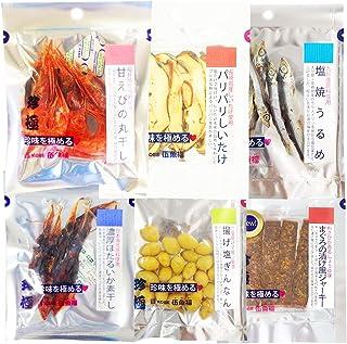 日本酒用おつまみ6品セット おつまみ詰め合わせ おつまみセット