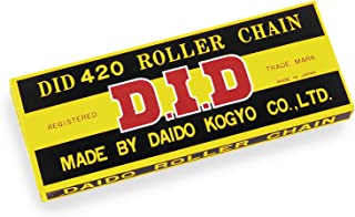 D.I.D 420 Standard Series Chain - 120 Links , Chain Type: 420, Chain Length: 120, Color: Natural, Chain Application: All 420x120