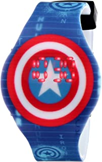 Marvel The Avengers Kids' CTA3119 Captain America Digital Display Watch