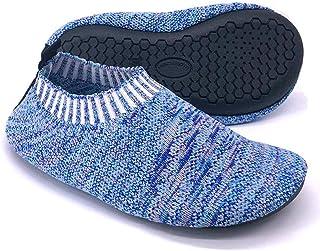Dream Bridge Calcetines Antideslizantes para niños, Zapatillas de Punto Antideslizantes para niños, niñas, Calcetines para...