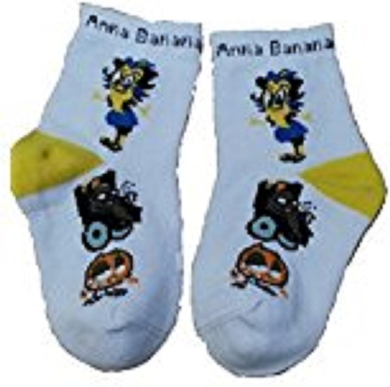 Socks ANNA BANANA Boston Mall SOCKS Teens Blue Medium Yellow El Paso Mall White