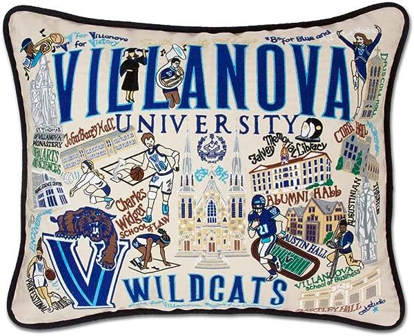 Catstudio Villanova University Embroidered Throw Pillow 16 X 20