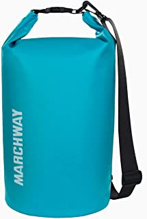 MARCHWAY Floating Waterproof Dry Bag 5L/10L/20L/30L/40L, Roll Top Sack Keeps Gear Dry for Kayaking, Rafting, Boating, Swim...