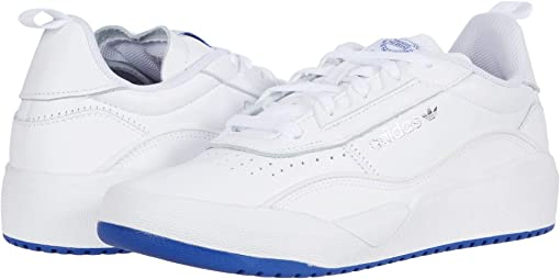 Footwear White/Team Royal Blue/Silver Metallic