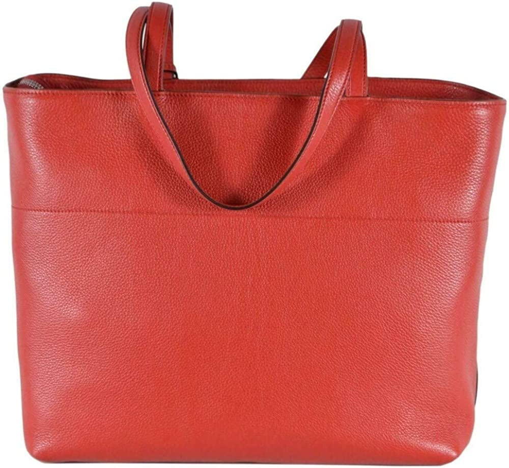 Prada, borsa shopping in pelle rossa 1BG203