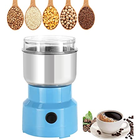 Details about  /Mini Electric Home Herb Grinder Coffee Beans Grain Milling Powder Machine 220V