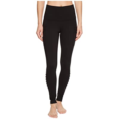 The North Face Perfect Core High-Rise Zip Tights (TNF Black) Women